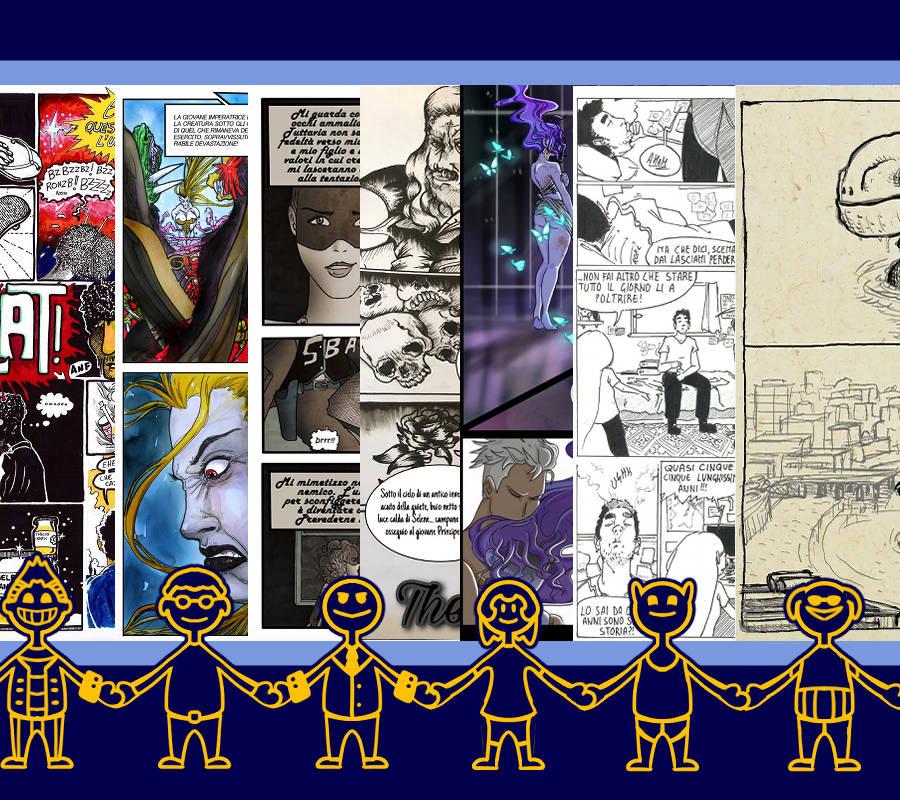 Partecipanti, Lettori, Community di Concorsi Fumetti