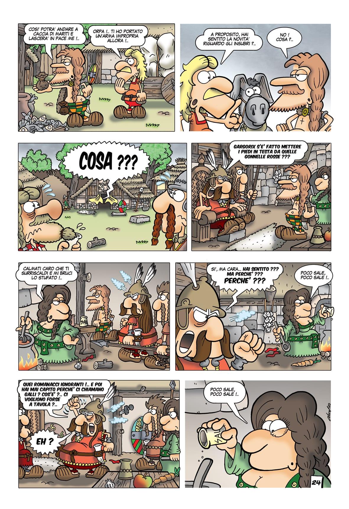 I Galli Boi e il Corno del Potere
