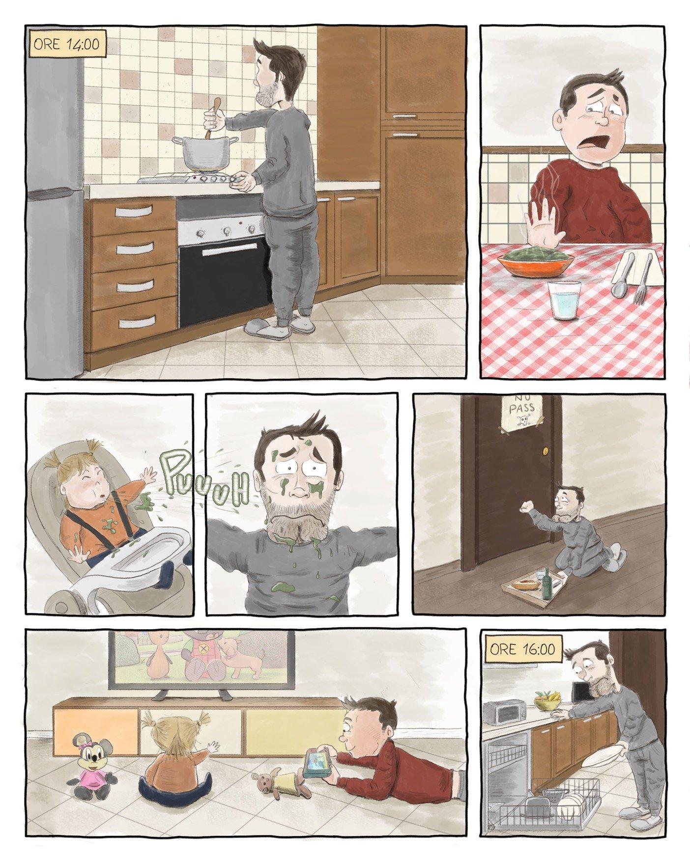 """""""Positivo"""" in casa... e due bambini"""
