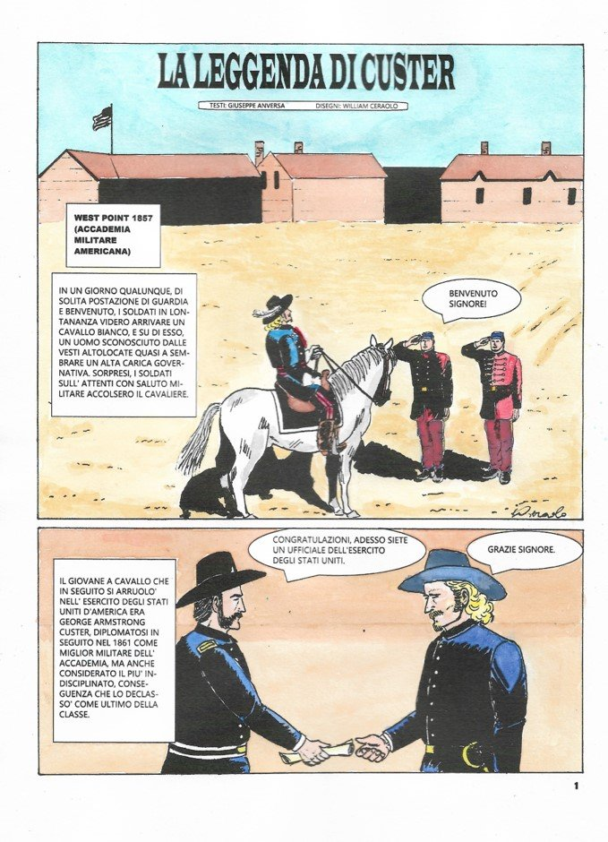 La Leggenda di Custer - variant