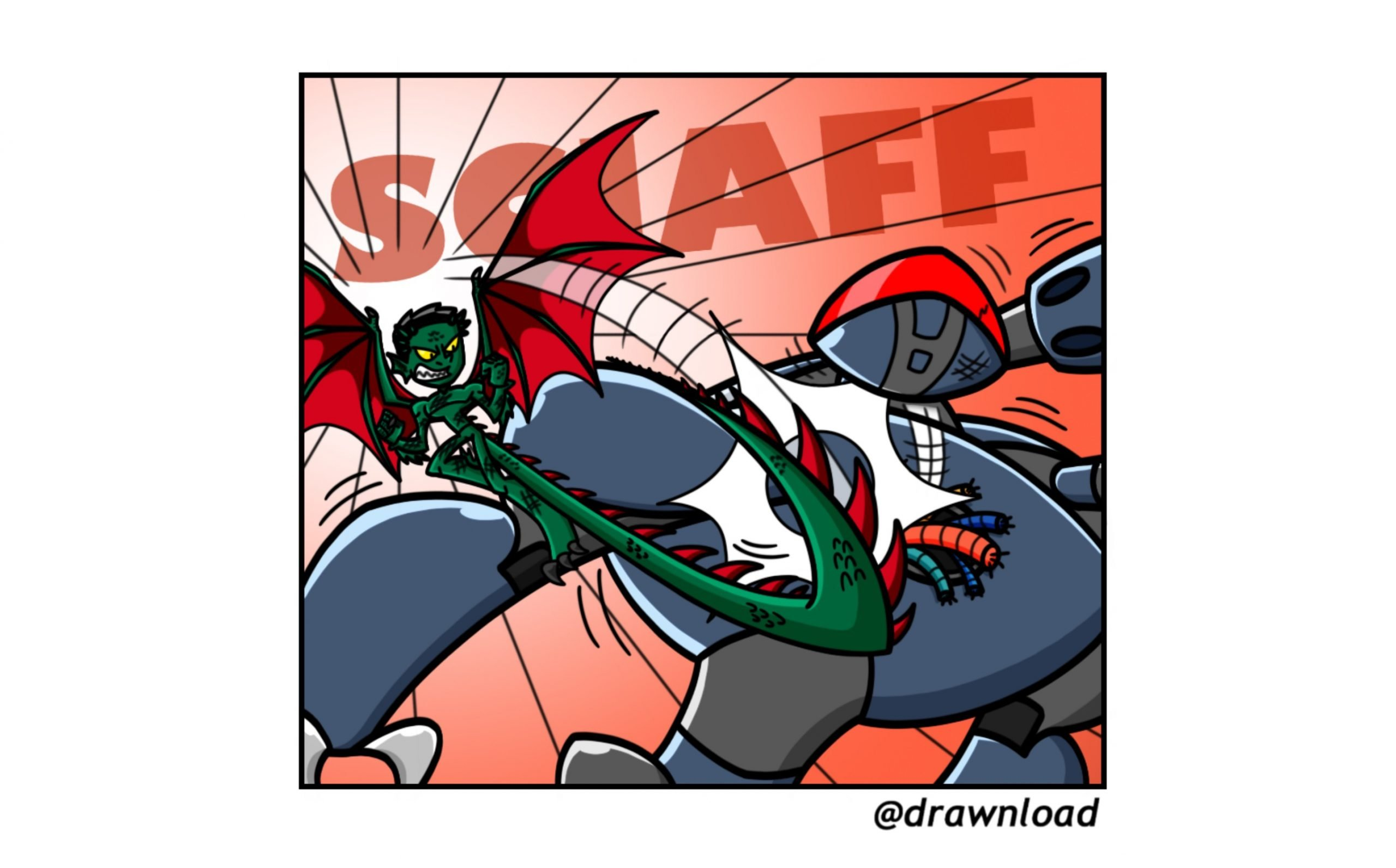 Drago-man 075