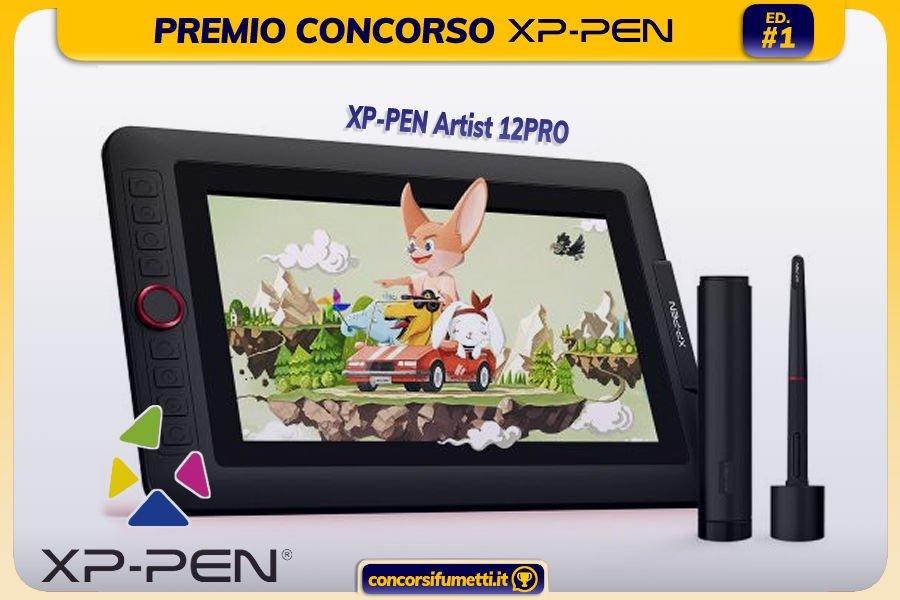 Premio Concorso Fumetto XP-PEN Prima Edizione 2021