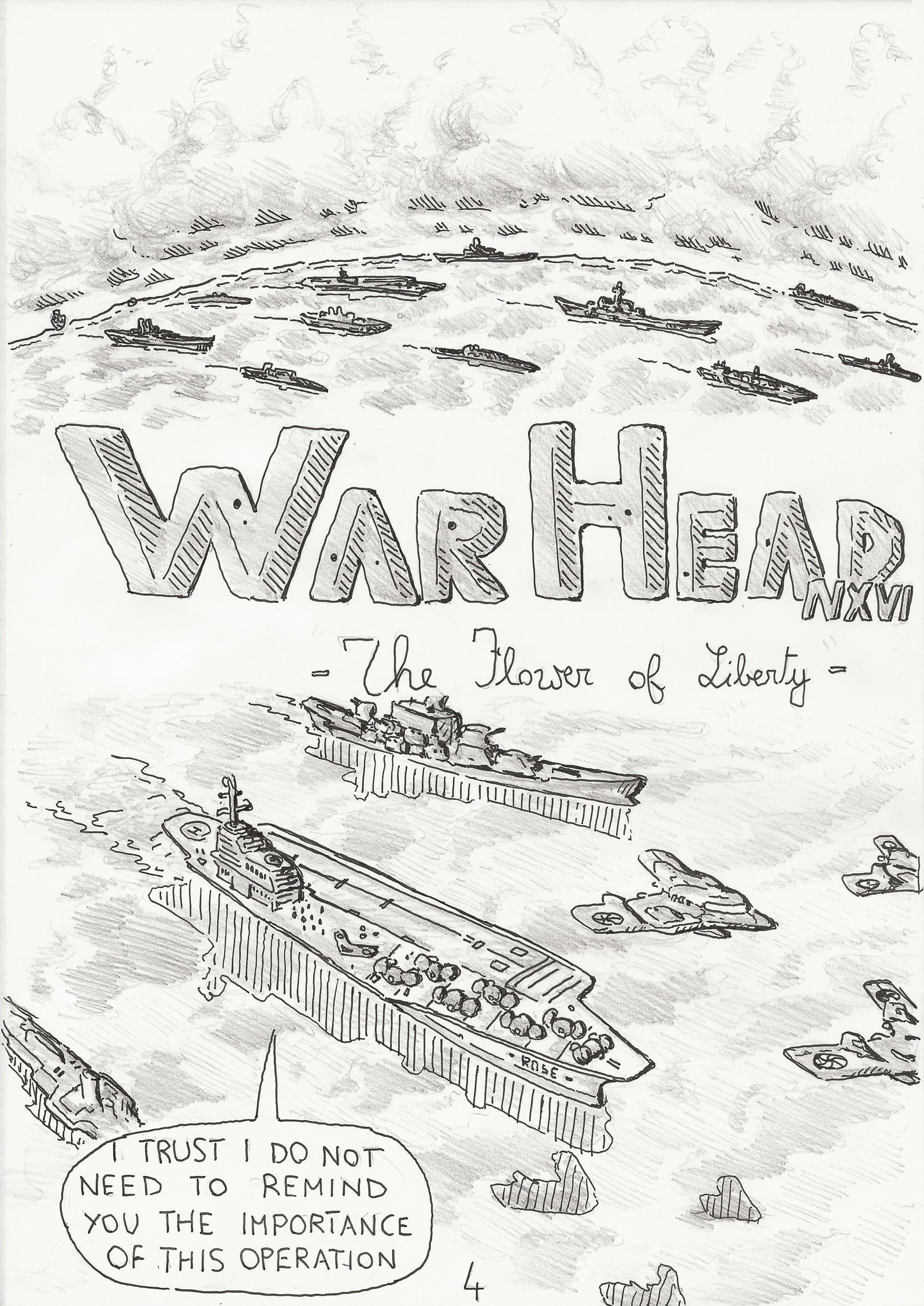 WARHEAD - The Flower of Liberty